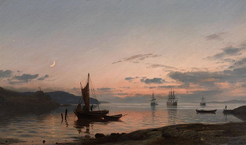 Maleren Amaldus Nielsen fokuserte på skjærgårdslandskapet i sør.