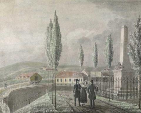 Hans Thøger Winther: Krohgstøtten, Oslo Museum.