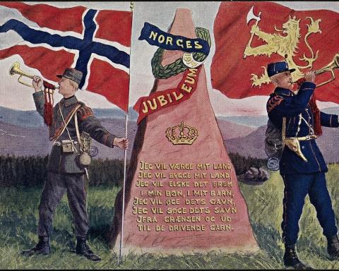 Postkort av Christian Magnus. Foto: Wikipedia.