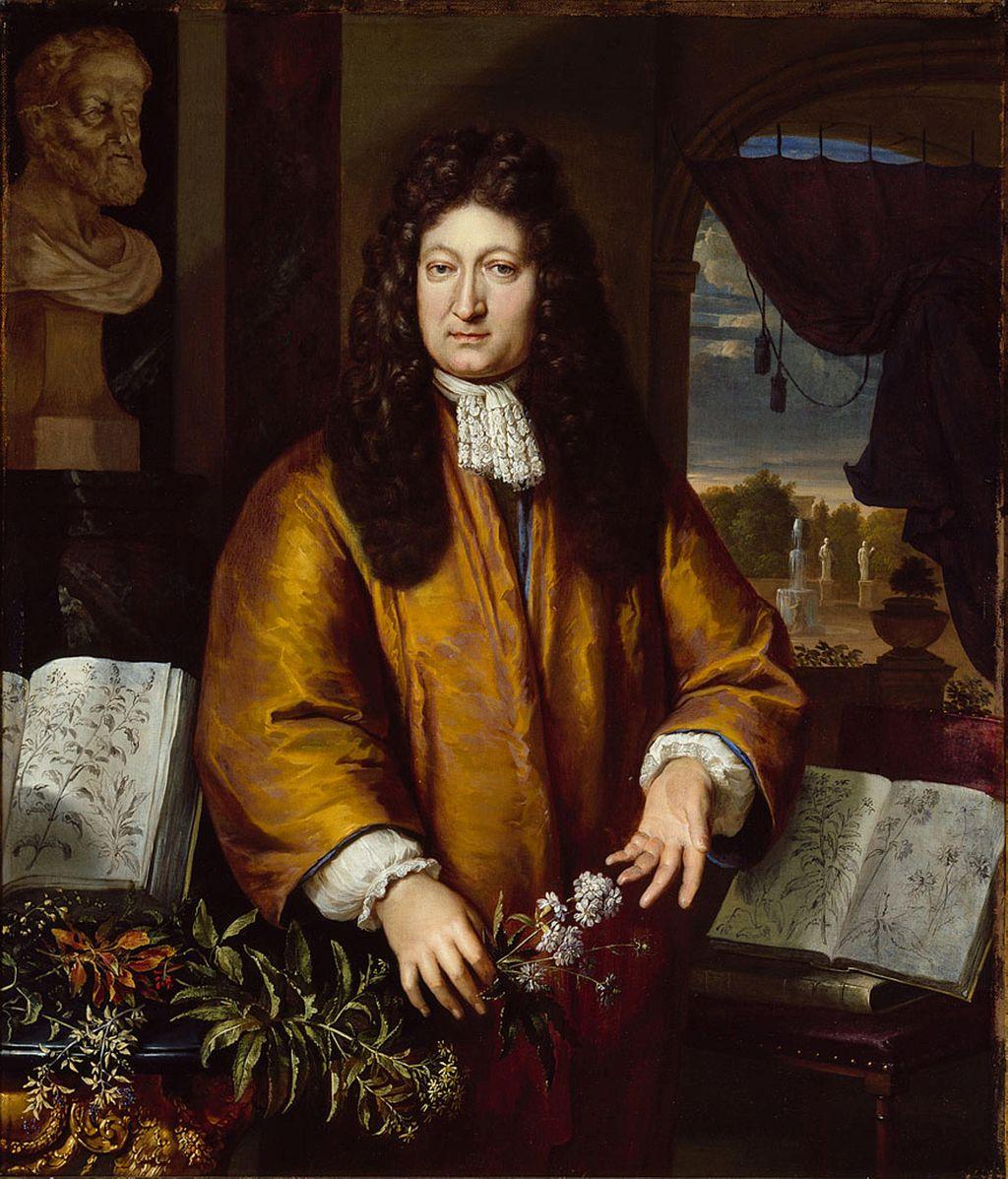 Portrett av Jan Commelin av Gerard Hoet (1648-1733)