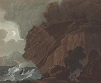 Utsikt ved Risør. Bilde: John-William Edy, Nasjonalmuseet