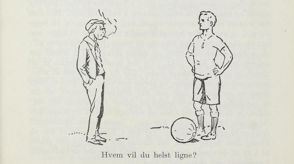Fra 1933-versjonen av Speiderguttboken, s. 139