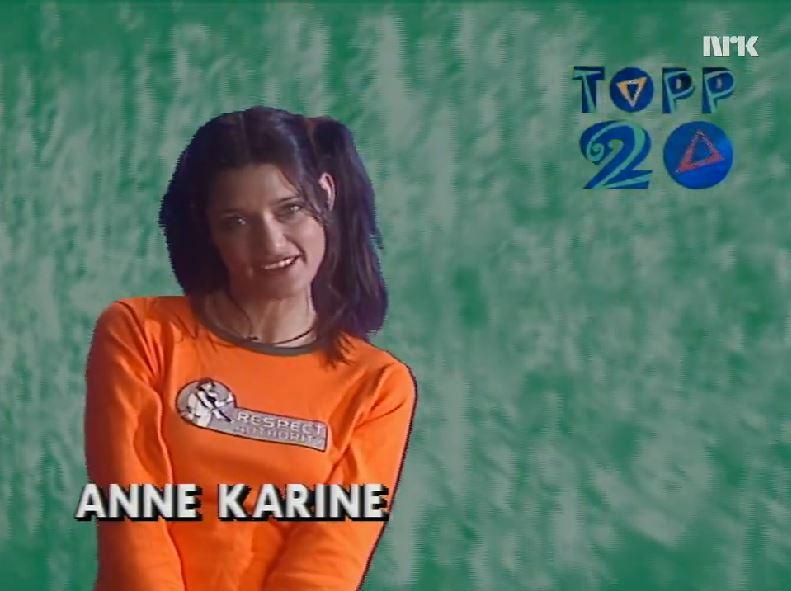 Første Topp 20-sending. Foto: NRK