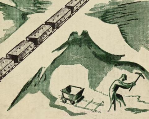 Bildet, som også er gjengitt øverst i artikkelen, er et utsnitt fra Nordland fylkes jernbanekomites skrift, Nordlandsbanen og Nord-Norges næringsveier (1938)