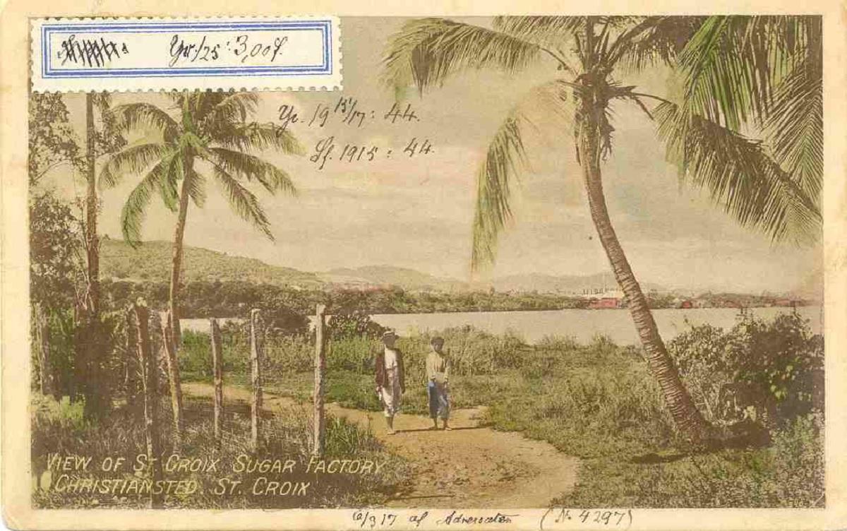 Postkort fra St. Croix. fOTO: Peder Wiben.