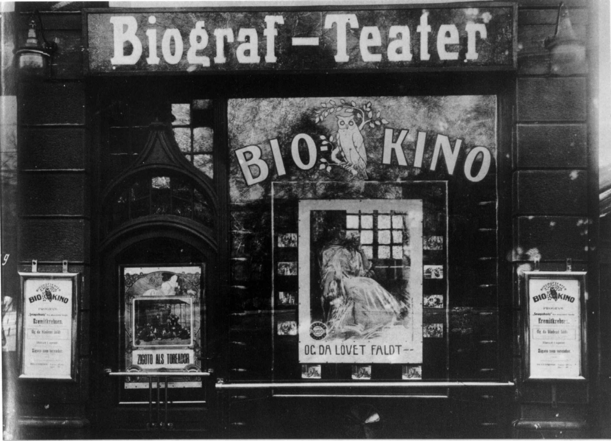 Bio-kino i Stortingsgata 14 åpna i 1911.